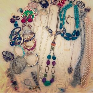💎 3 Pound  Costume Jewelry Lot! Read Description